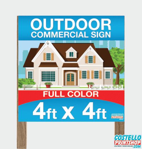 Sacramento Outdoor Sign Commercial
