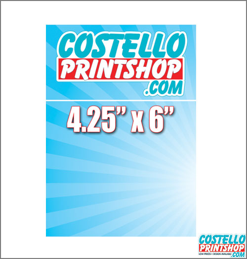 Sacramento Postcard Printing 4.25x6