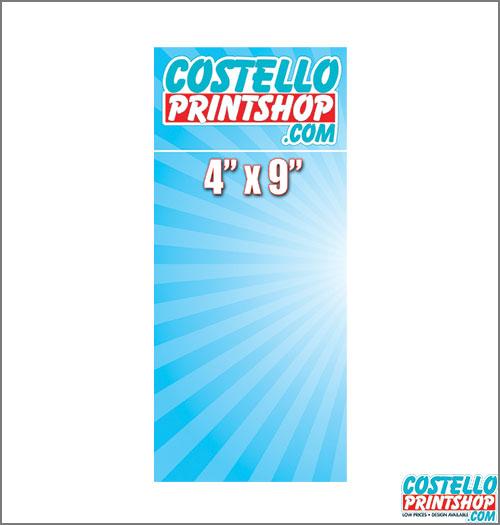 Sacramento Postcard Printing 4x9