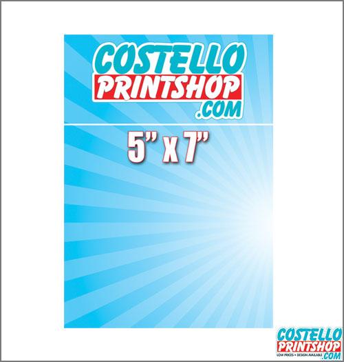 Sacramento Postcard Printing 5x7