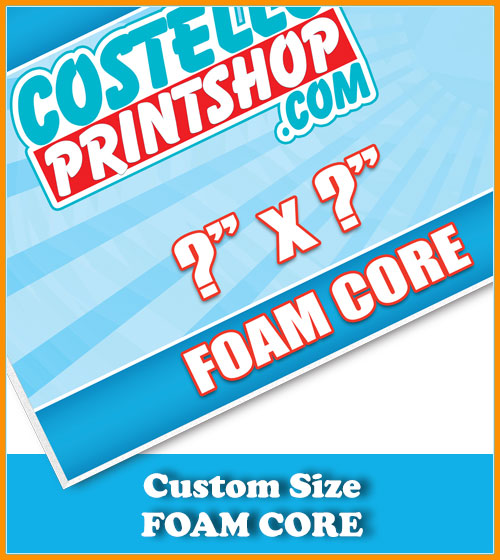 Foam Core Signs