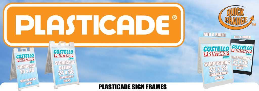Sacramento Plasticade Signs