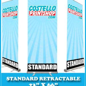 23x66 banner stand sacramento