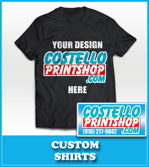 Sacramento print shop sacramento print sign shop 916 for Custom t shirts sacramento