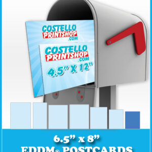 6.5x8 EDDM postcards in Sacramento