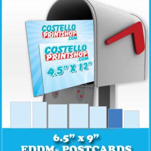 6.5x9 EDDM Postcards Sacramento