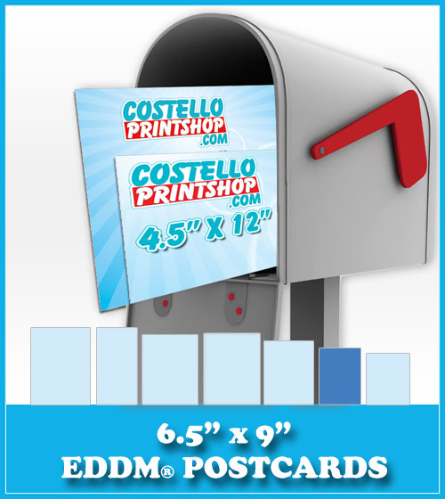Order 6.5x9 Every Door Direct Mail Postcards