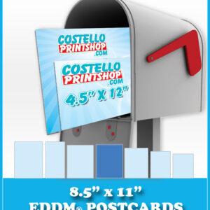 8.5x11 EDDM® Postcards