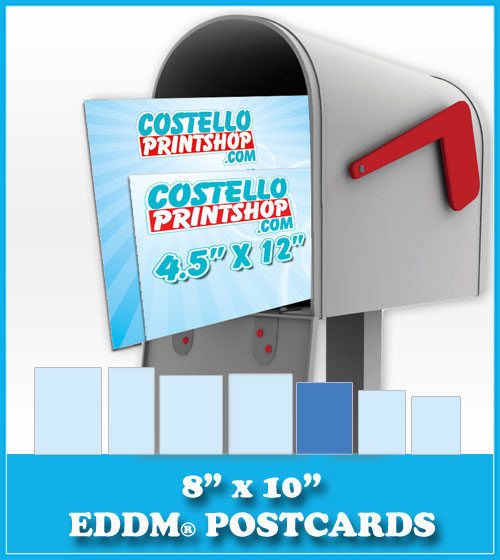 Order 8x10 Every Door Direct Mail Postcards