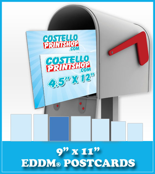Order 9x11 Every Door Direct Mail Postcards
