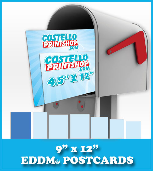 Order 9x12 Every Door Direct Mail Postcards