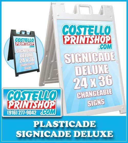 Sacramento Signicade Plasticade Sign