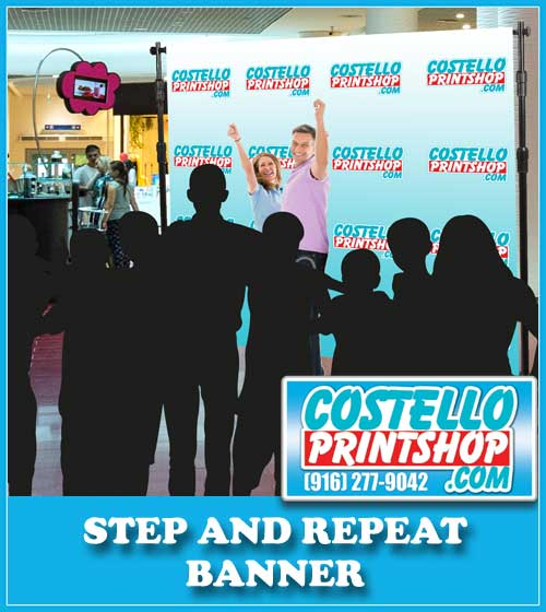 8x8 Step and Repeat banner in Sacramento