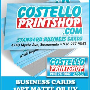 Sacramento Business Cards Sale