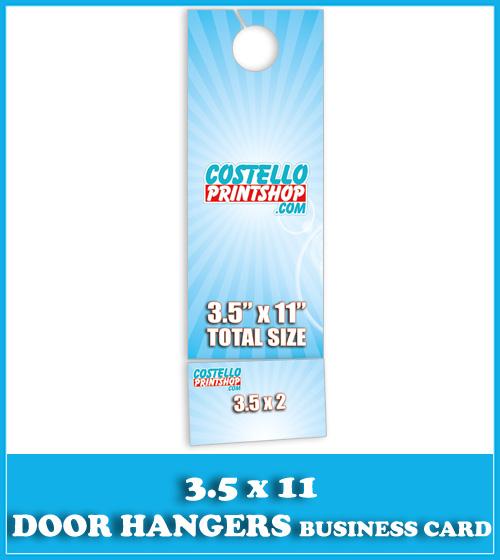 Sacramento Door Hanger Printing with Business Card