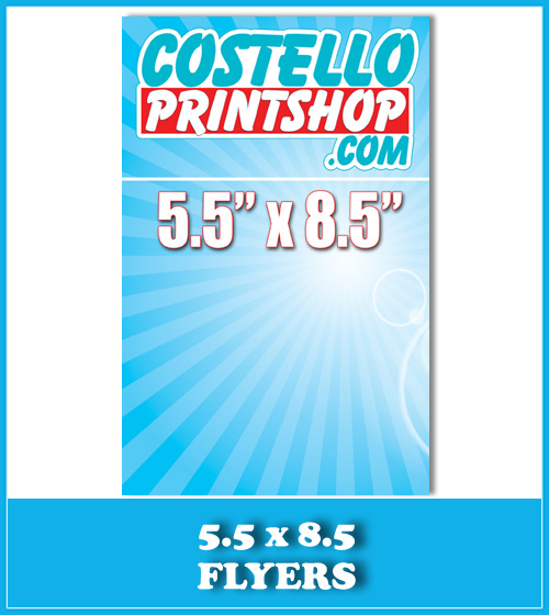 Sacramento 8.5x11 Brochure Printing
