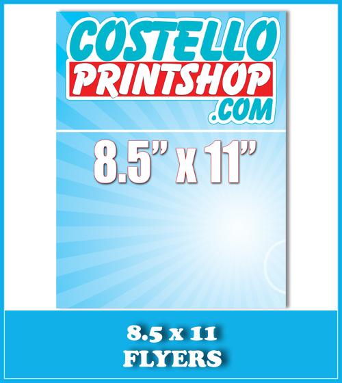 Sacramento 8.5x14 Brochure Printing