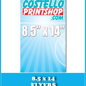 8 5x11 flyer printing 100lb gloss cover sacramento print sign