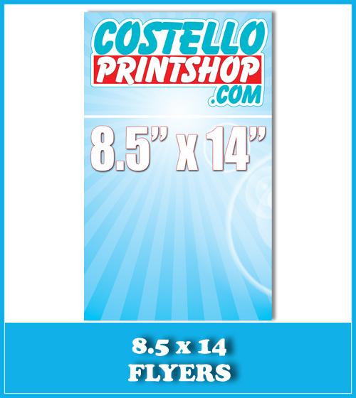 Sacramento 11x17 Brochure Printing