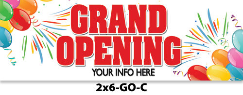 Grand Opening Banners Sale ⋆ Sacramento Print Sign Shop