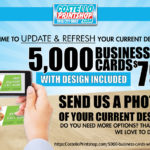 5000 Business Cards With Design