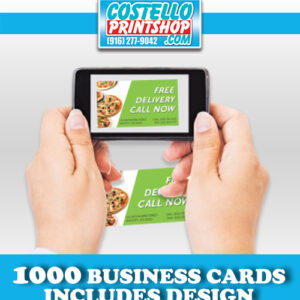 1000-business-cards with design